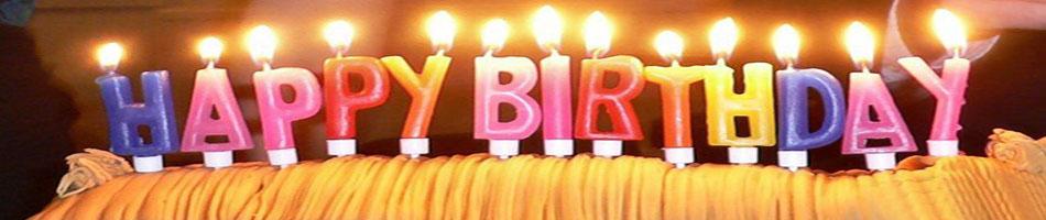 Happy Birthday slogan