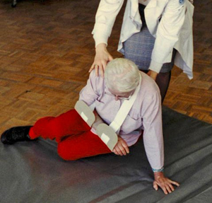 elderly patient fall